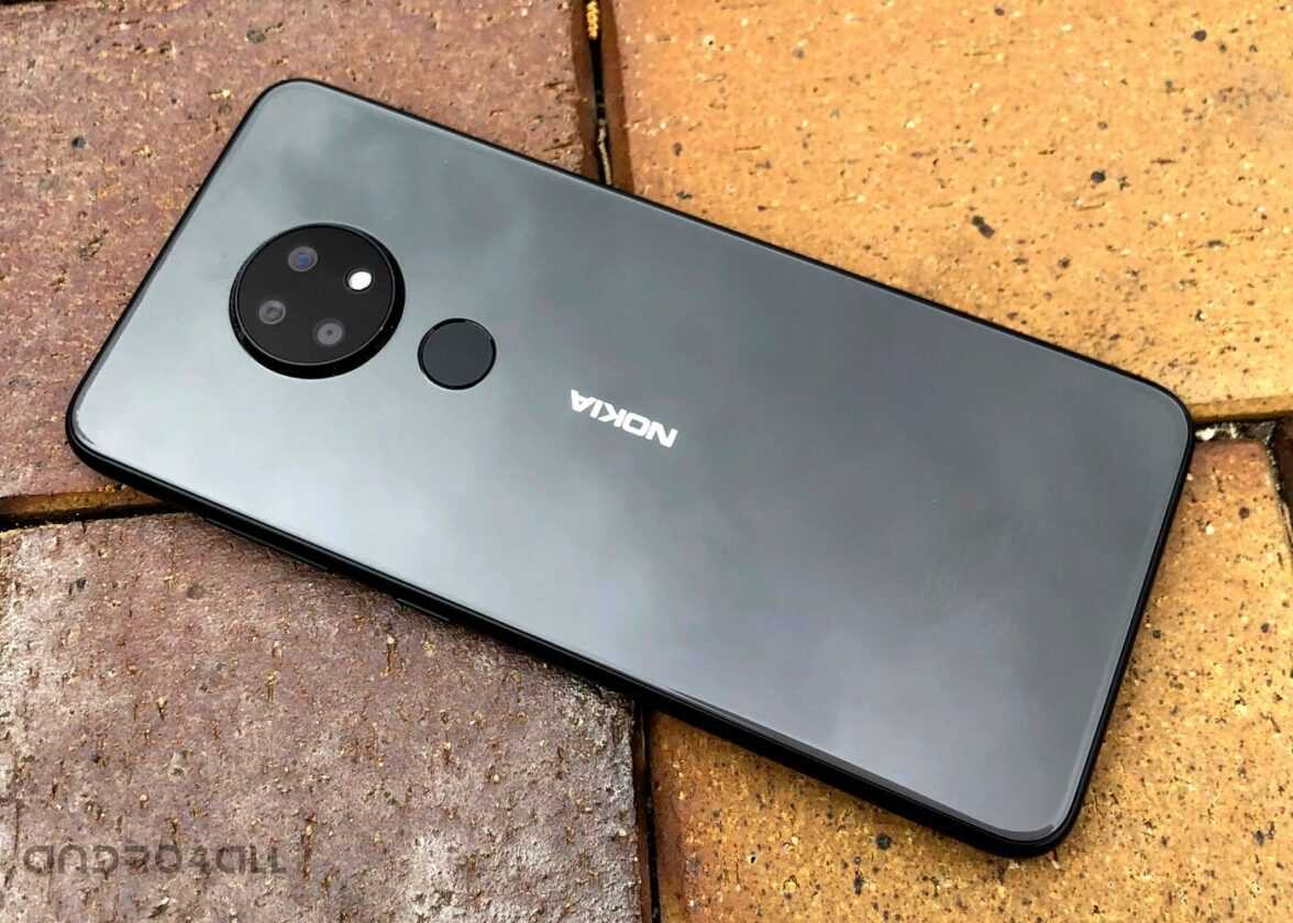 Conception du Nokia 6.2