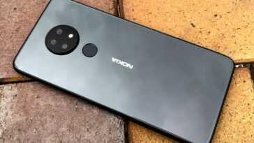 Conception du Nokia 6.2