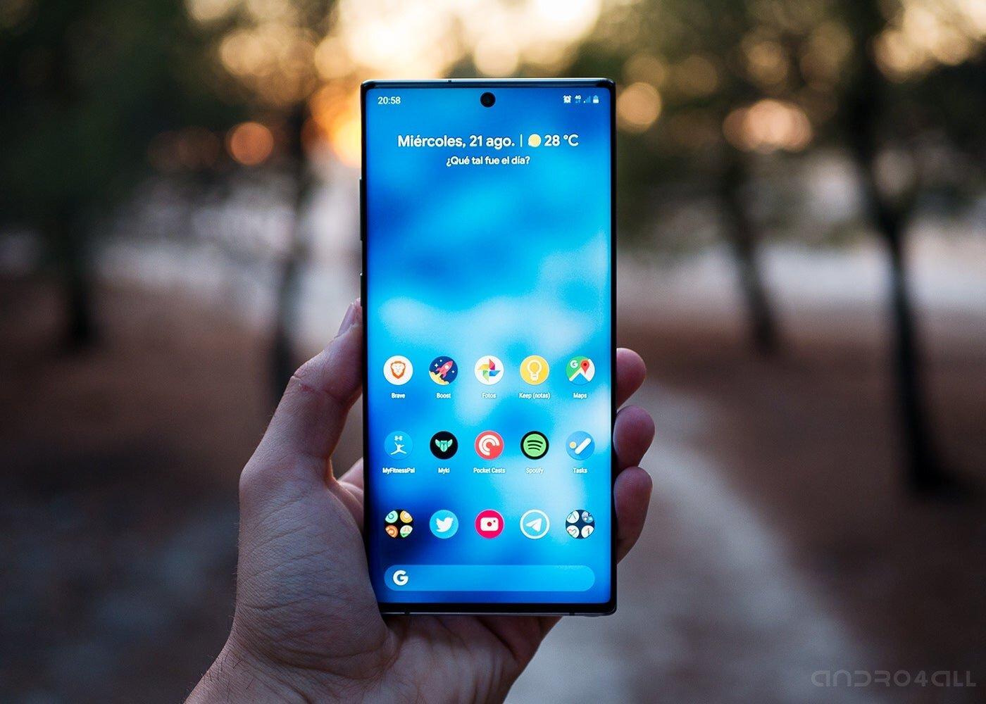 Écran Samsung Galaxy Note10 +