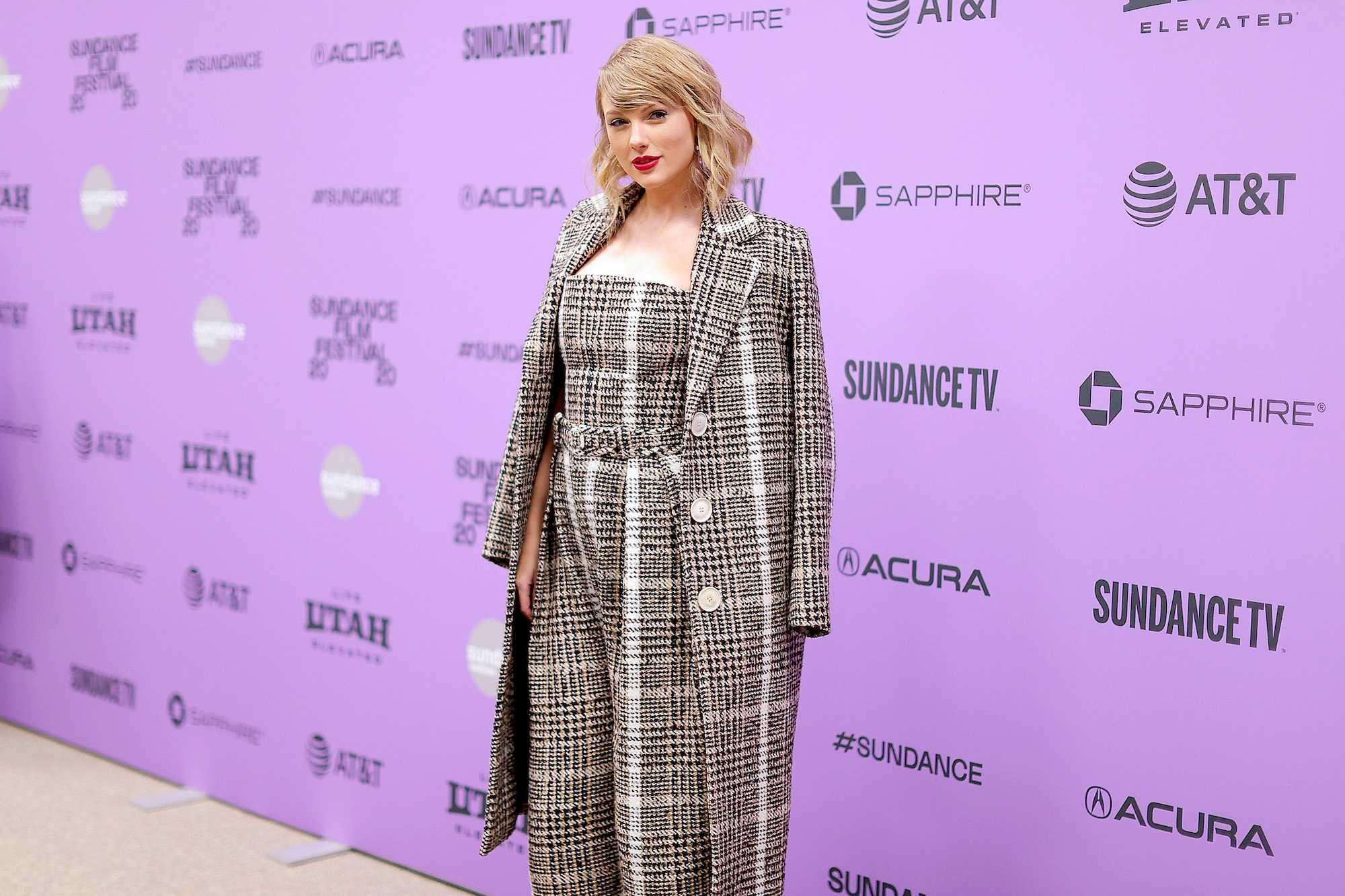 Taylor Swift au Festival du film de Sundance 2020 - Première de `` Miss Americana '' au théâtre Eccles Center le 23 janvier 2020 à Park City, Utah