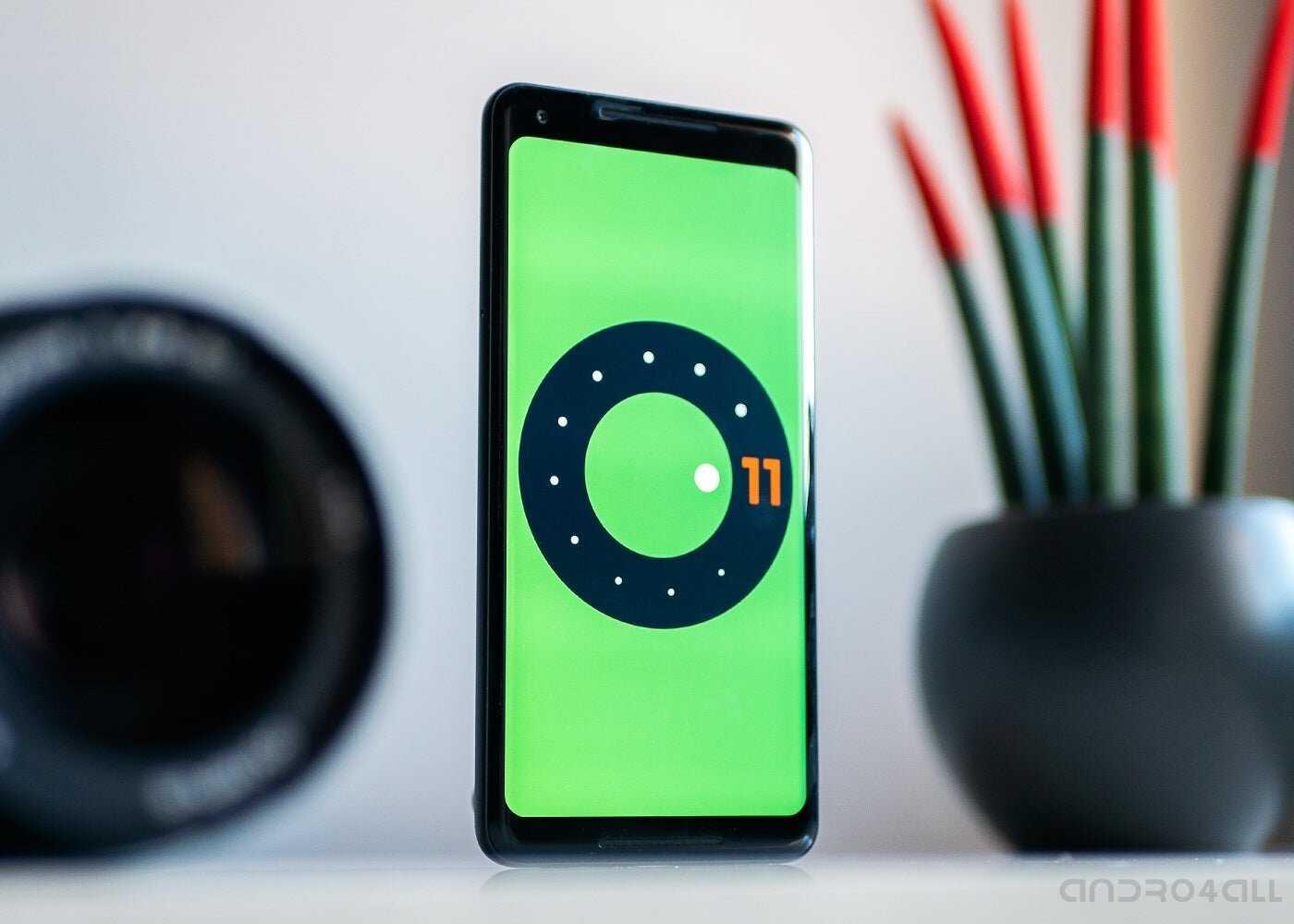 Android 11 sur un Pixel