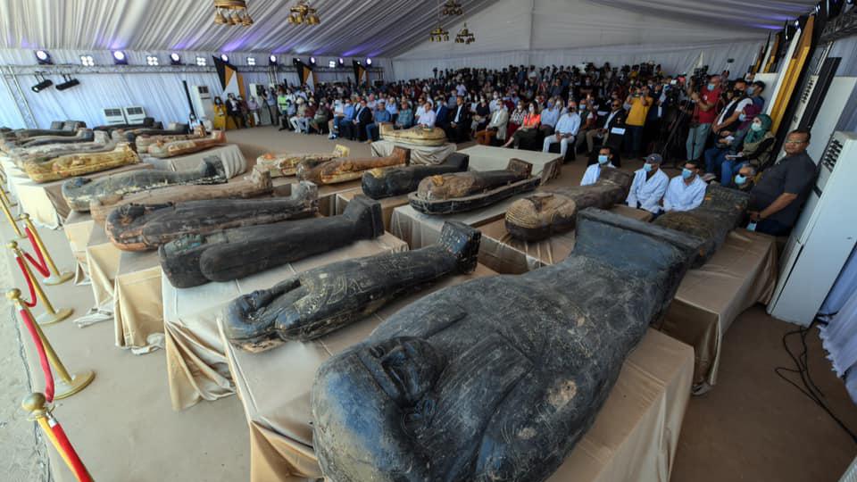 La découverte de plus de 100 cercueils scellés contenant des momies, sur le site archéologique de Saqqara en Égypte, a été l'une des plus grandes histoires archéologiques de 2020.