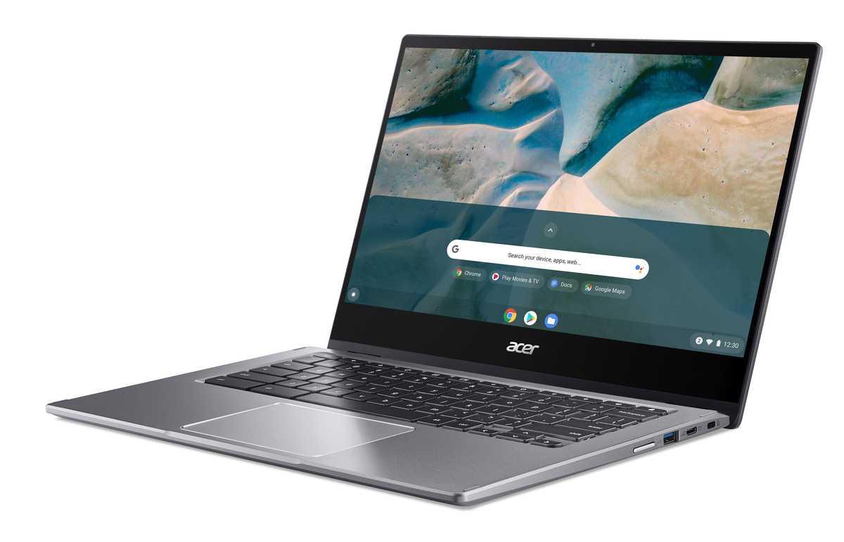 Acer Lance Son Premier Chromebook Alimenté Par Ryzen, Le Spin