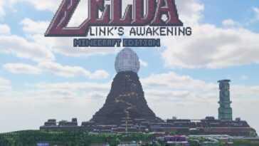 Aléatoire: cette version de Minecraft est une version jouable de Link's Awakening