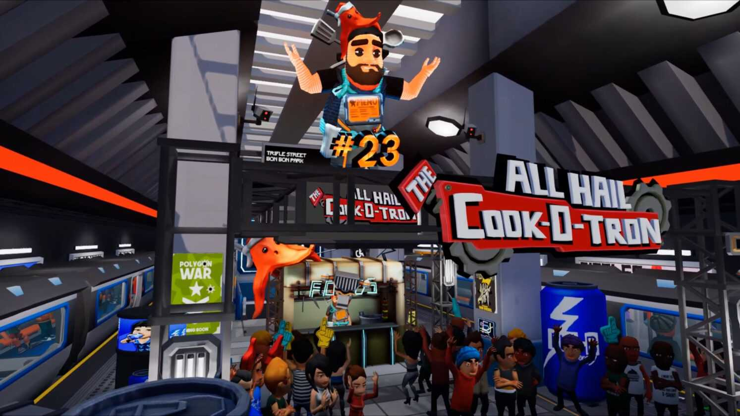 All Hail The Cook-o-tron Is Now Available on Steam For A VR Cooking Experience