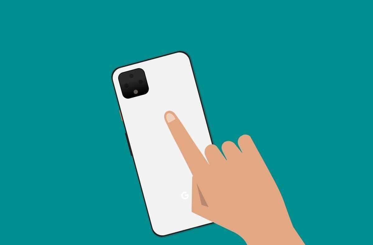 Geste de toucher deux fois Google Pixel