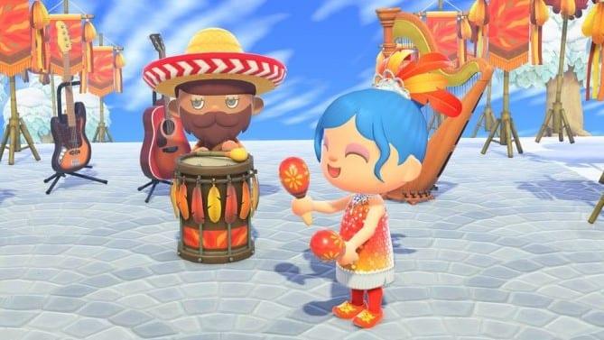 Mise à jour 1.7.0 d'Animal Crossing New Horizons