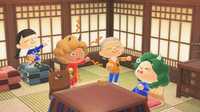Animal Crossing New Horizons ACNH Setsubun