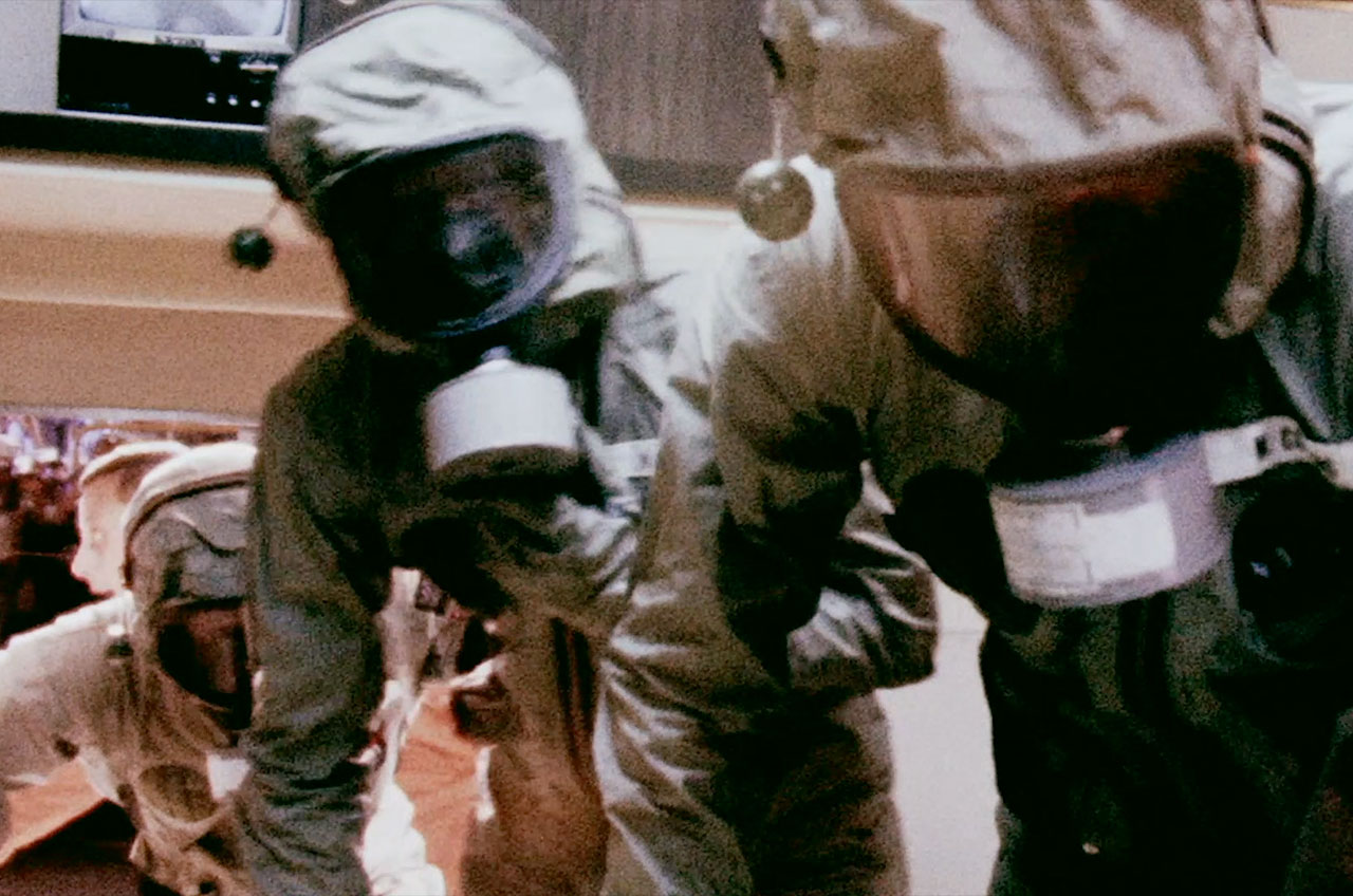 «Apollo 11: mise en quarantaine,