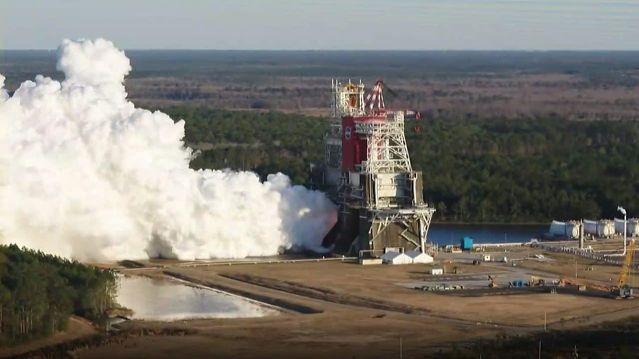 Après le premier test, la NASA envisage de relancer sa fusée lunaire