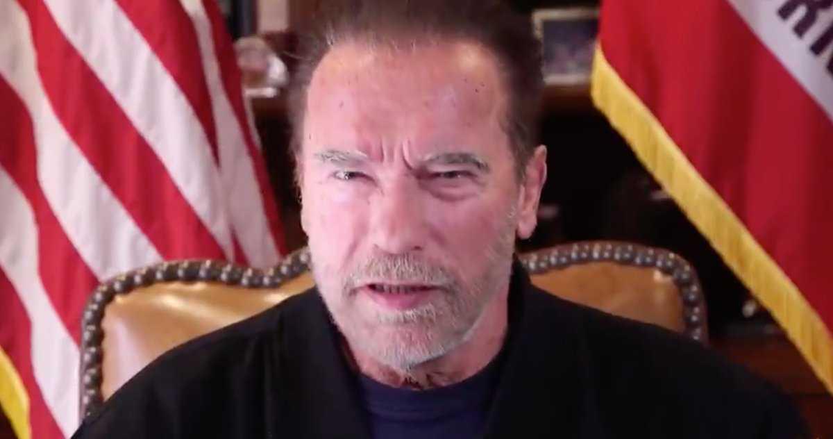 Arnold Schwarzenegger Invoque Conan Dans Un Message Au Monde
