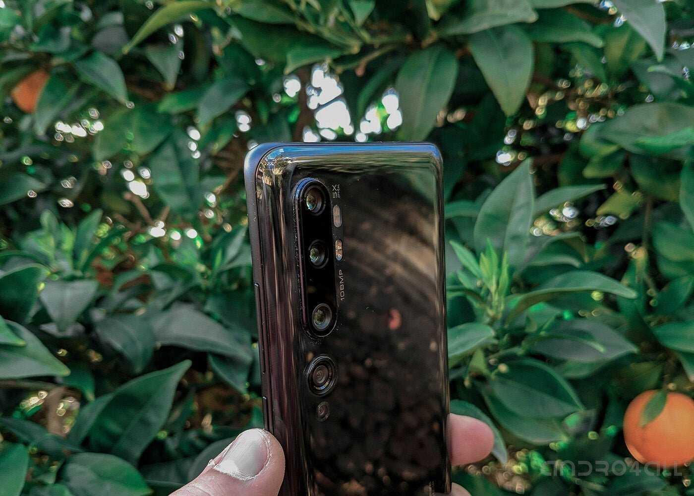 Caméras Xiaomi Mi Note 10