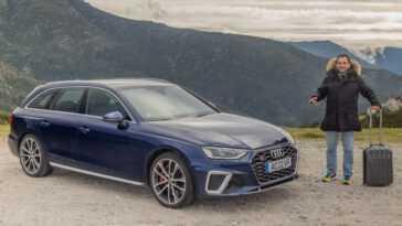 Audi S4 Avant. Un Fourgon De Sport Diesel A T Il Un