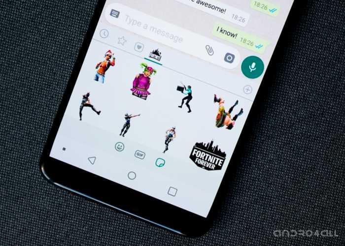 Vous pouvez maintenant télécharger les autocollants individuellement sur WhatsApp