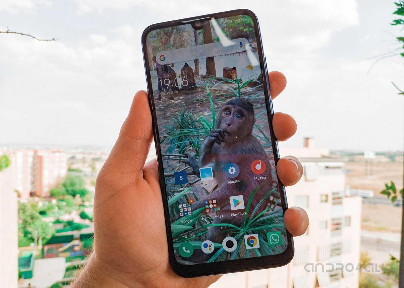 Lanceur Xiaomi Redmi Note 7
