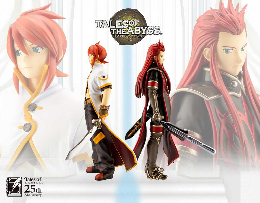 Bandai Namco Announces Luke And Ash Figures To Celebrate Tales Of The Abyss 15th Anniversary