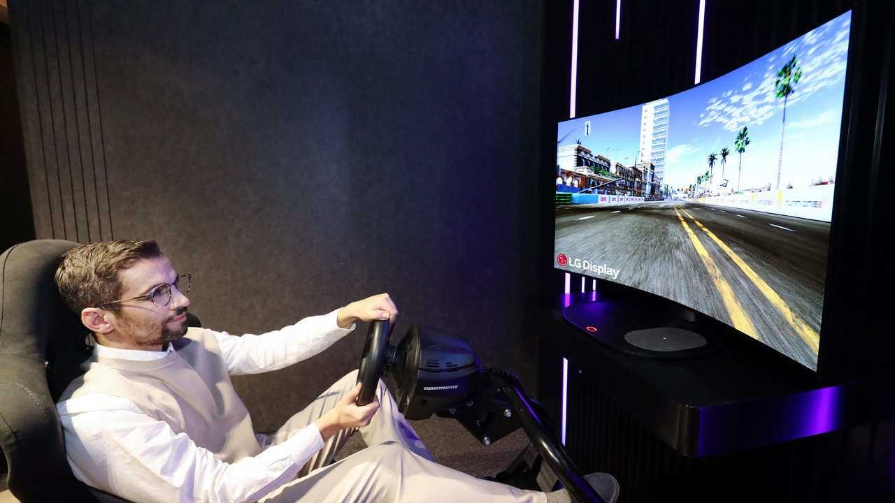 CES 2021: LG dévoile un écran CSO pliable de 48 pouces pour les jeux, qui sera présenté lors de l'événement