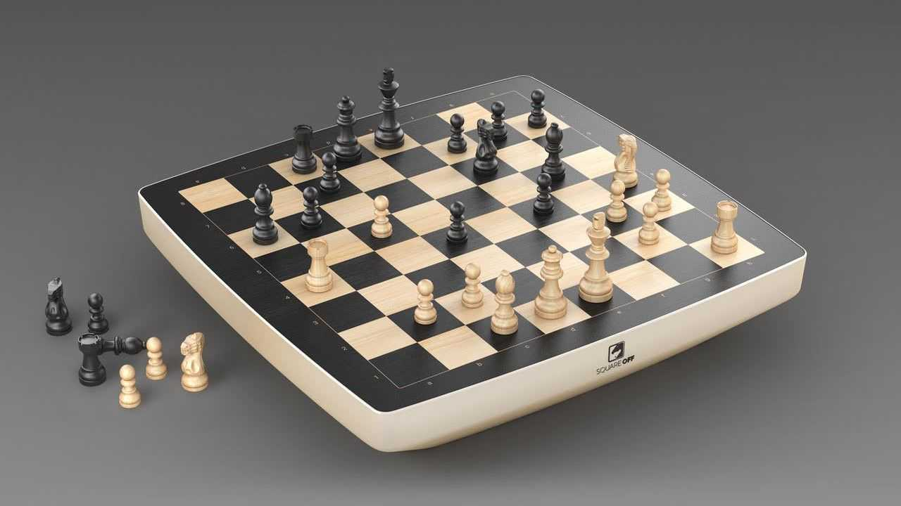 Ces 2021: Square Off Dévoile Le Premier Ordinateur D'échecs Enroulable