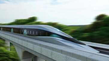 Ce Train Ultra Rapide Peut Vous Emmener De Milan à Naples