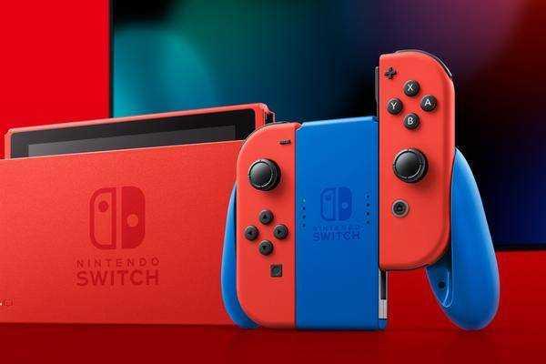 Cette Nintendo Switch Chic Au Design Mario Apparaîtra En Février
