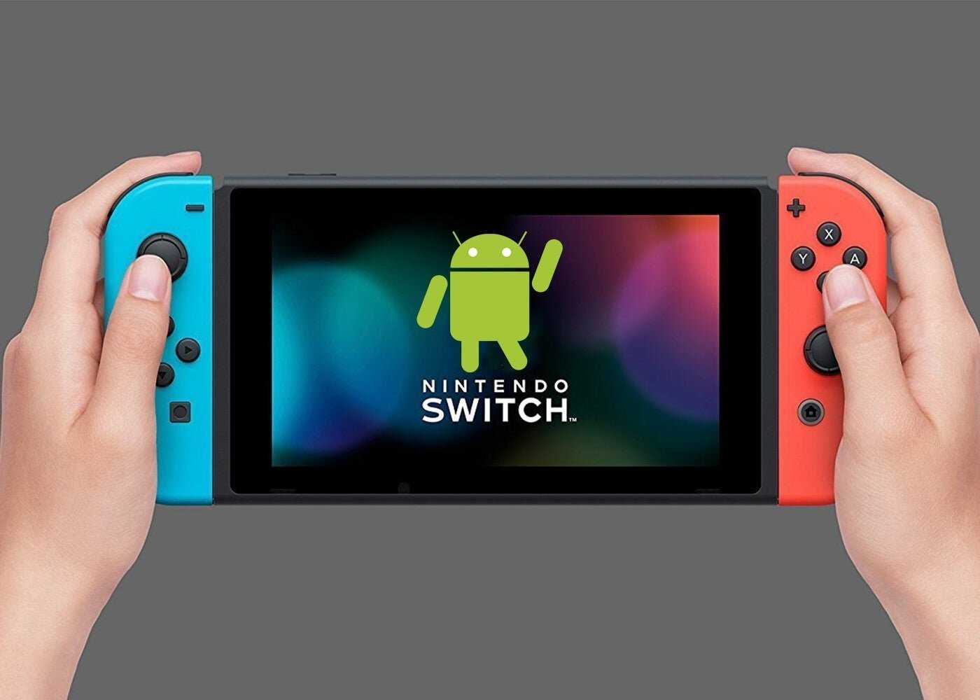 Android sur Nintendo Switch