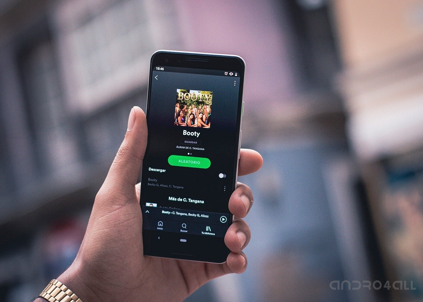 Spotify pour Android