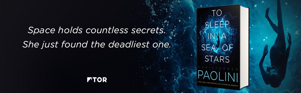 Christopher Paolini sort son premier roman de science-fiction