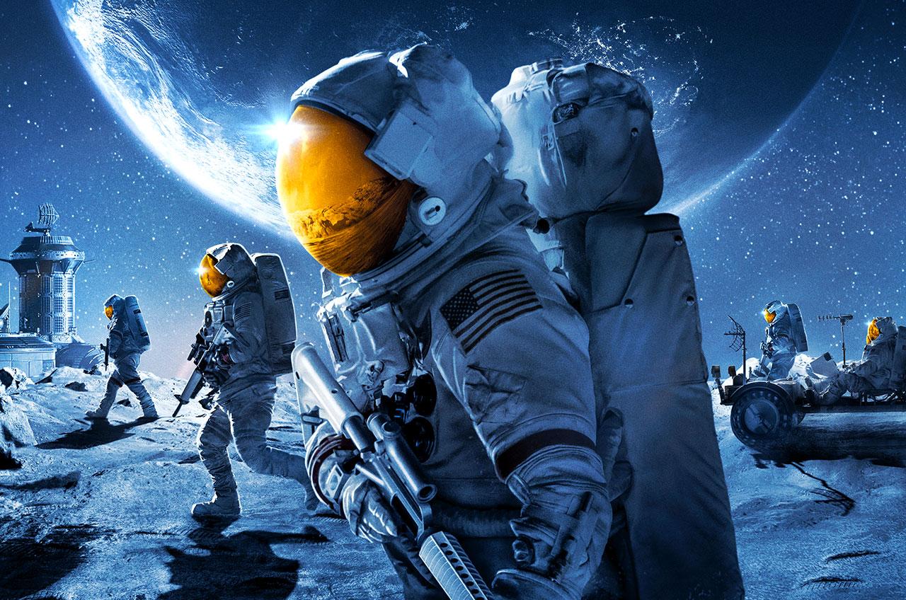 La série d'histoire spatiale alternative