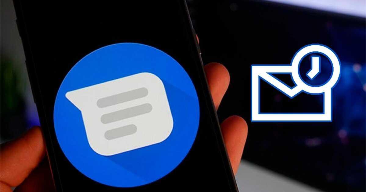 Programmer l'envoi de messages dans Google Messages