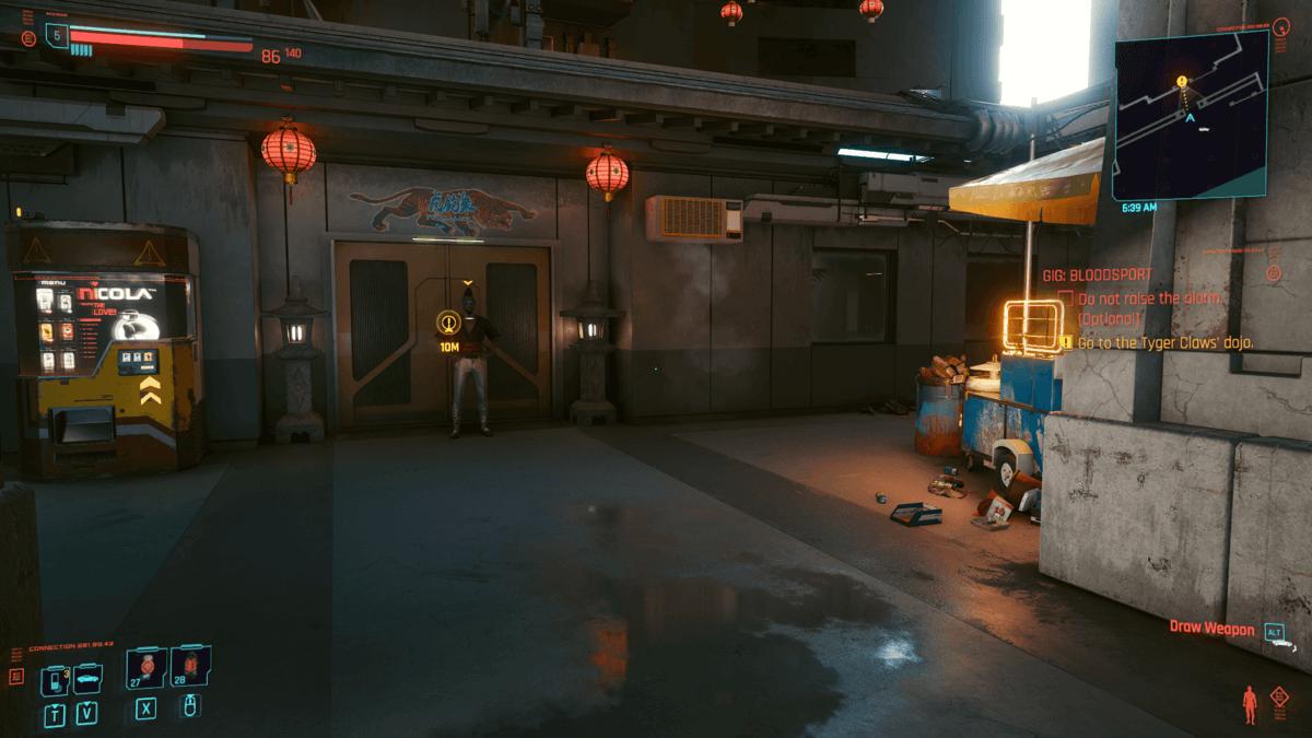 Cyberpunk 2077 Gig: Bloodsport Comment Sauver Roh