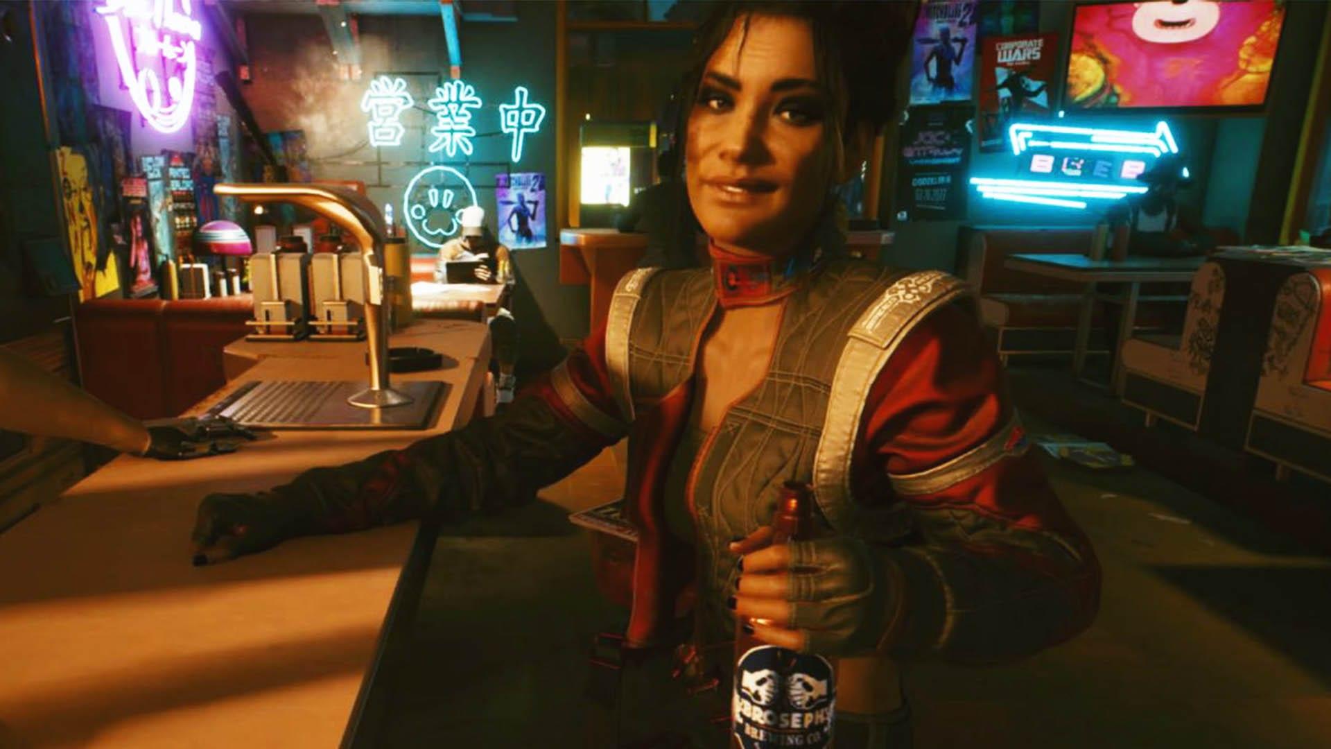 Romances dans Cyberpunk 2077