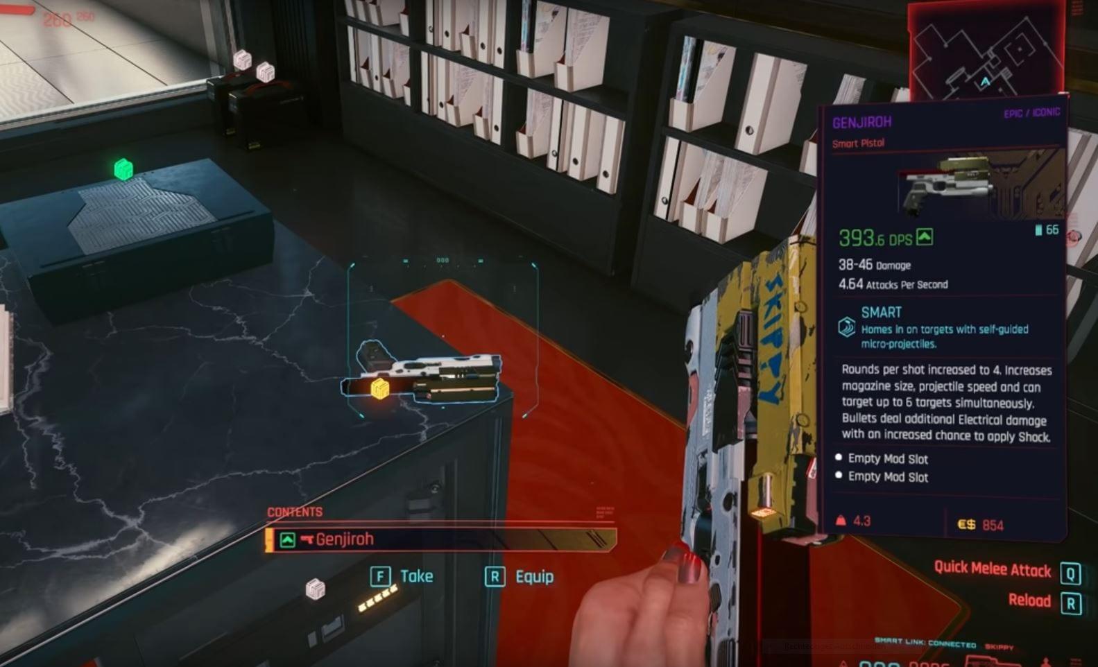 Cyberpunk 2077: Guide de toutes les armes uniques (Solution)