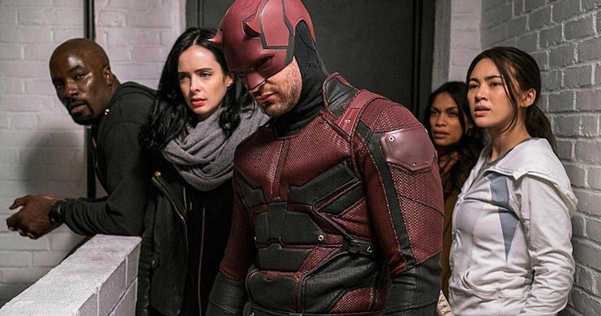 Daredevil, Punisher Et Les Défenseurs De Netflix Font Partie Du