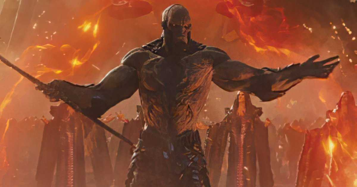 Darkseid Et Steppenwolf Sont Prêts Pour La Guerre Dans Un