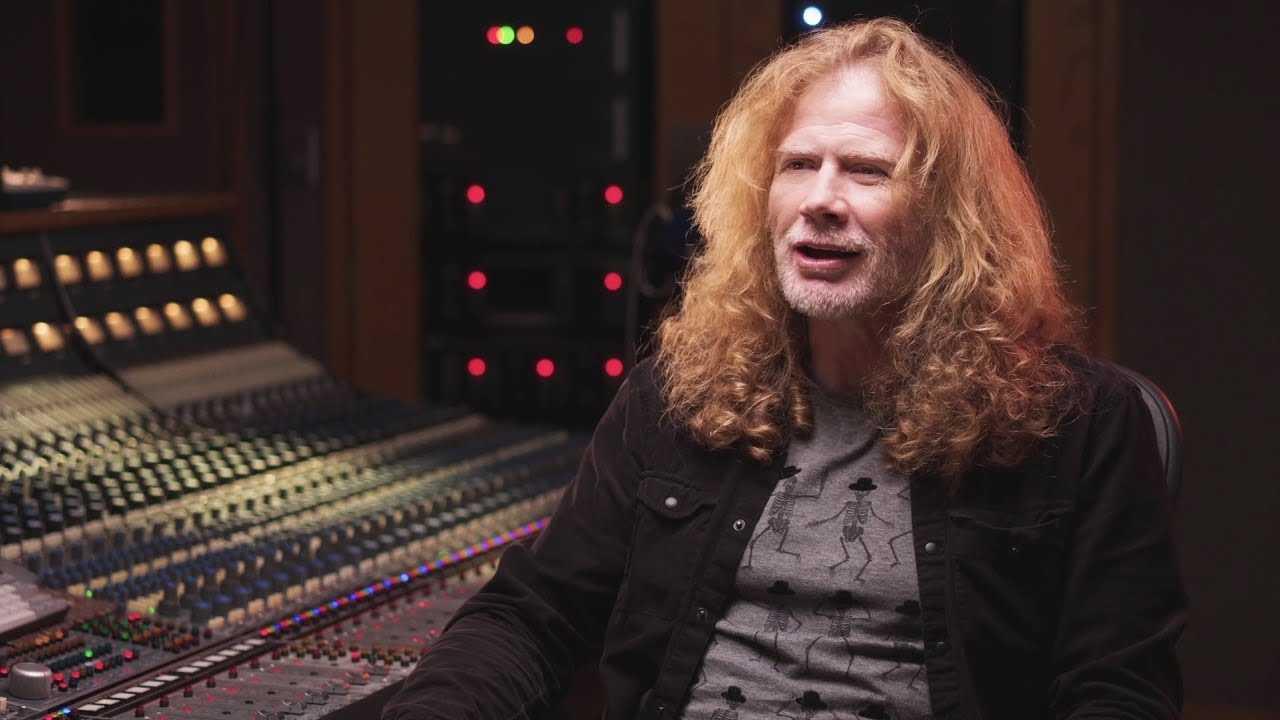 Dave Mustaine Révèle Une Tranche Du Nouvel Album De Megadeth