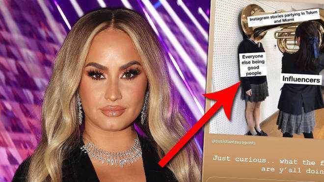 Demi Lovato claque les stars de TikTok en ignorant le coronavirus et en faisant la fête à l'étranger