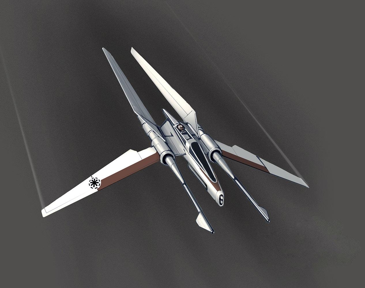 Un combattant vectoriel Jedi.