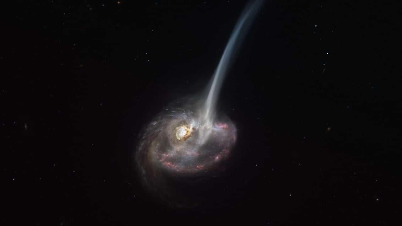 Des scientifiques assistent à la mort d'une galaxie à 9 millions d'années-lumière, dans une première remarquable