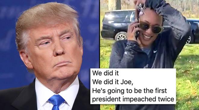 Trump a destitué deux mèmes: les meilleures réactions