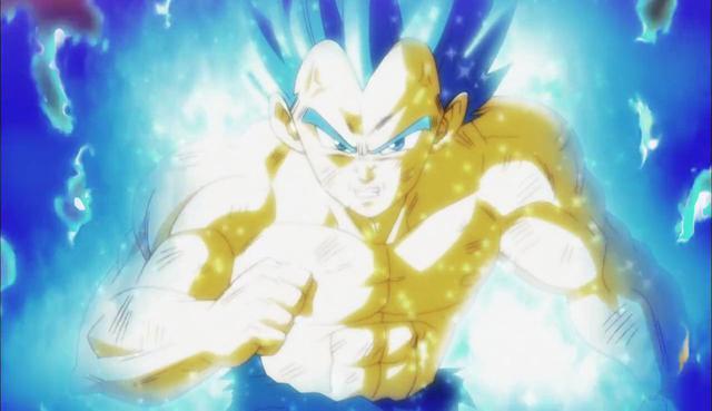 La puissance maximale de Vegeta a été le Super Saiyan Blue Evolution, mais il semble maintenant que cela va changer (Photo: Toei Animation)