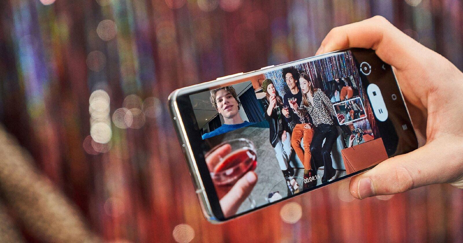 Vue des administrateurs sur le Samsung Galaxy S21 Ultra