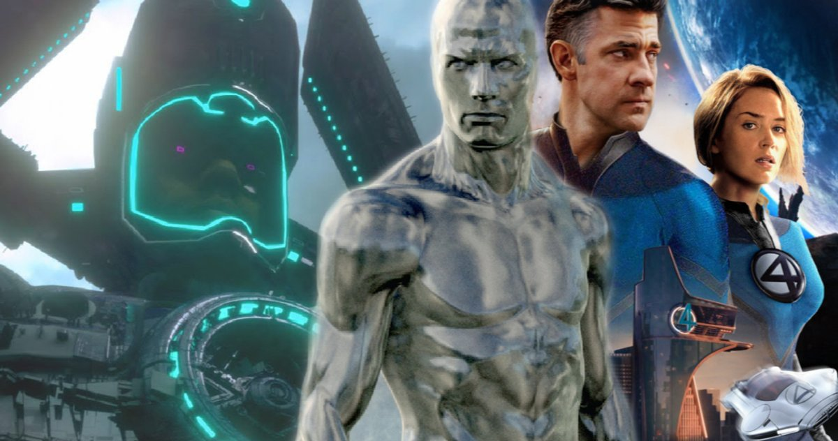 Fantastic Four, L'arrivée Du Mcu De Galactus Et Silver Surfer