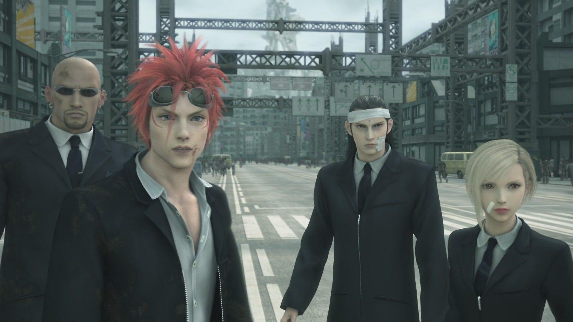 Les Turcs dans Final Fantasy VII Advent Children