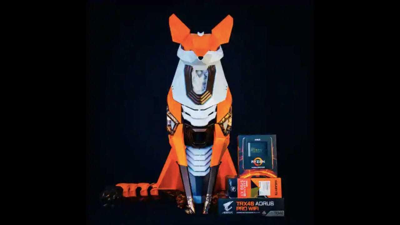 Fox My Box 'kitsun' Ressemble à Un Renard Et Fonctionne