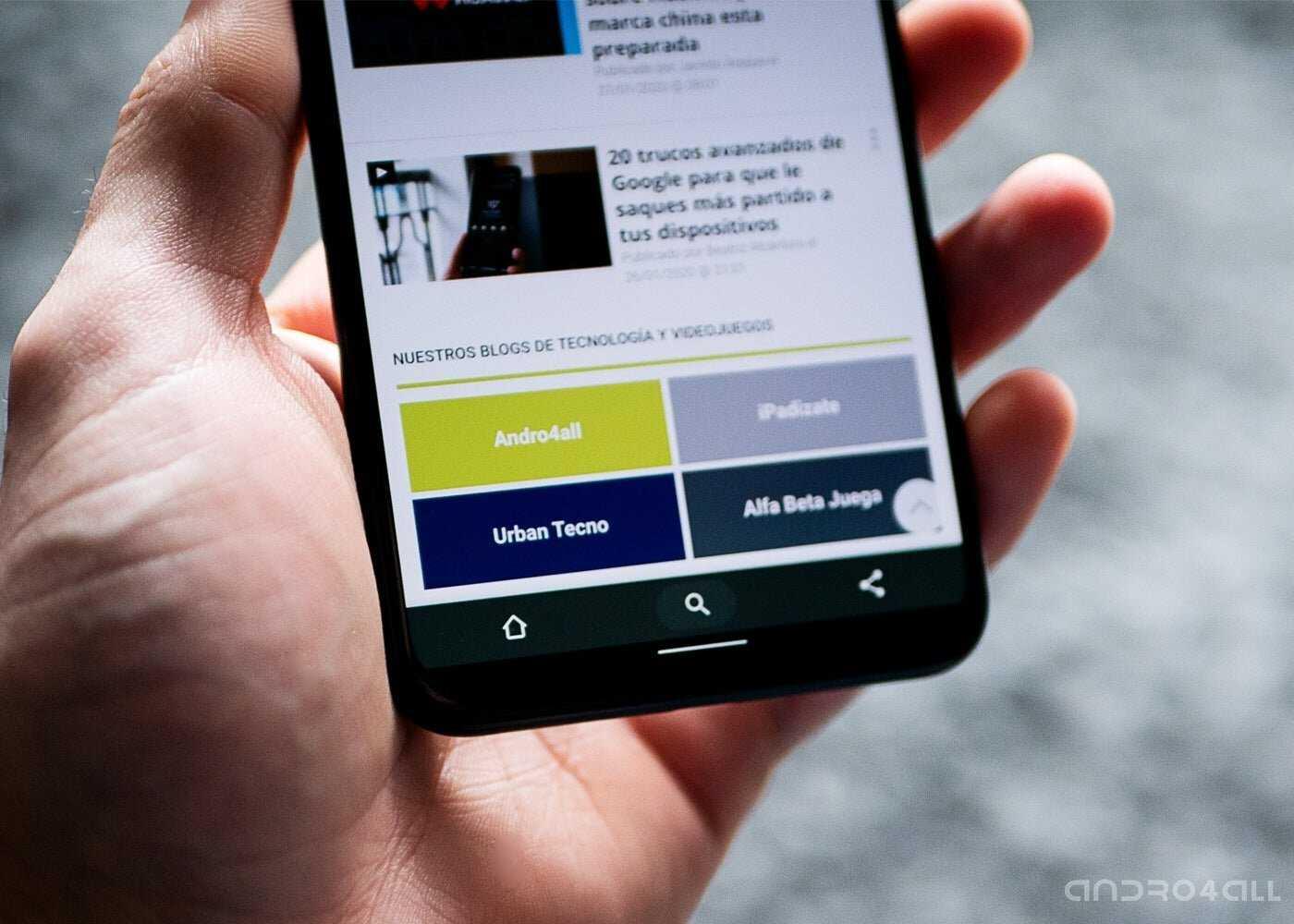 Google New Google Chrome Duet sur Android