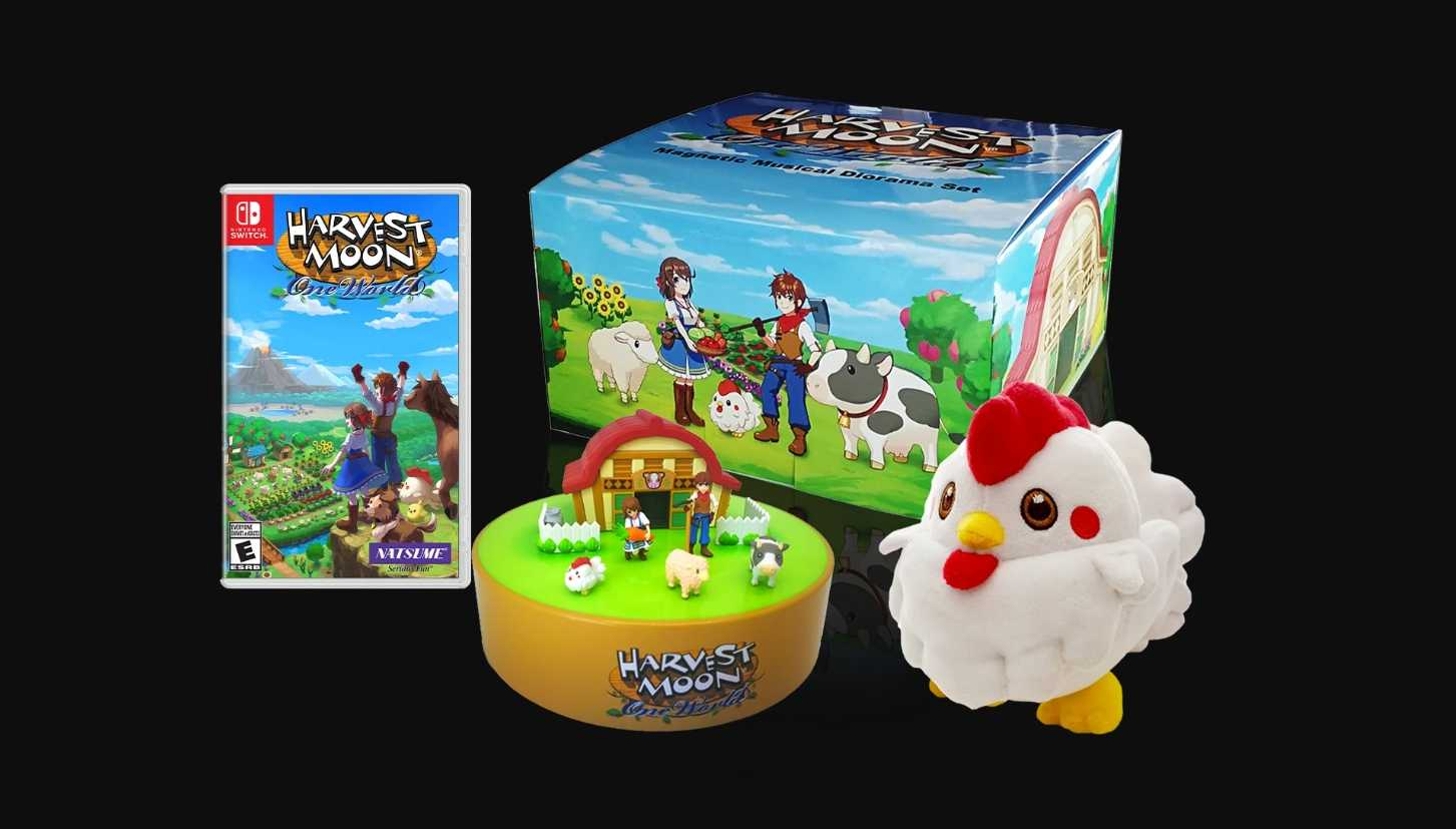 Harvest Moon: One World Collector's Edition With Limited Run Games Details Announced