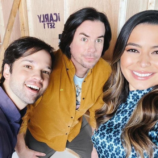 Miranda Cosgrove, Nathan Kress et Jerry Trainor sont prêts à commencer le tournage (Photo: Instagram / Miranda Cosgrove)