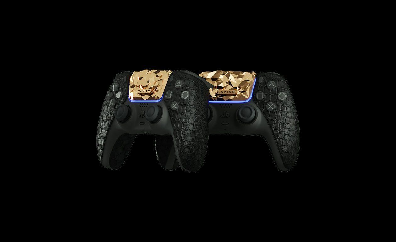 Il Y A Une Playstation 5 En Plaqué Or 18