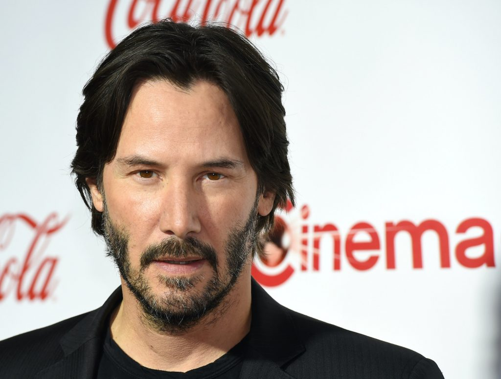 Keanu Reeves attends the CinemaCon Big Screen Achievement Awards in 2016