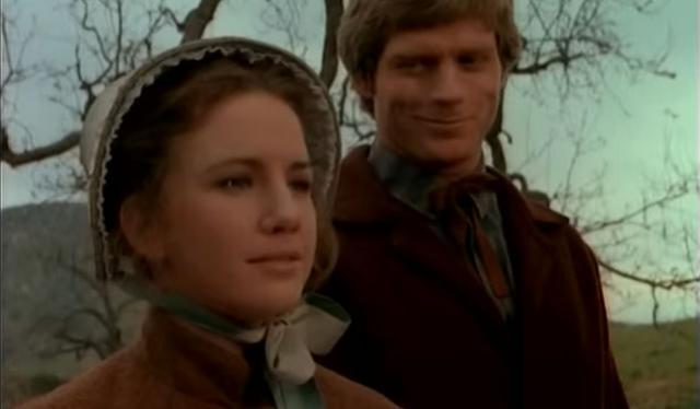 L'actrice Melissa Gilbert n'aimait pas l'idée que quelqu'un de beaucoup plus âgé qu'elle soit son partenaire dans la fiction.  (Photo: NBC)